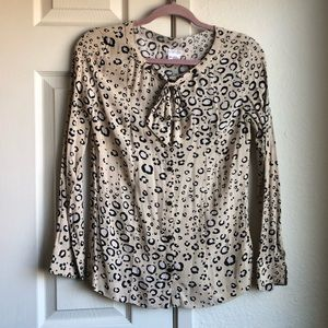 Urban Outfitters Cooperative Cheetah Long Sleeve